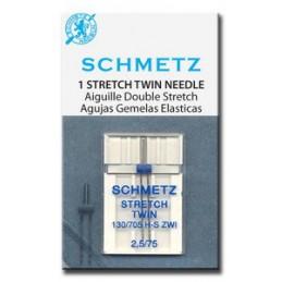 Schmetz Stretch tweeling naaimachinenaald nr. 75