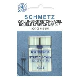 Schmetz Stretch tweeling nr. 75/4.0 - naaimachinenaald