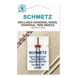 Schmetz Tweelingnaald nr. 80 - naaimachinenaald